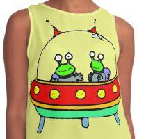 Alien - UFO - Flying Saucer Contrast Tank