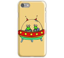 Alien - UFO - Flying Saucer iPhone Case/Skin