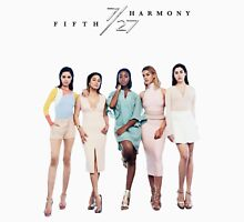 FIFTH HARMONY 7/27 (FASHION MAGAZINE) Women's Fitted Scoop T-Shirt