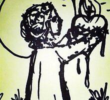 Sacred Heart of Infant Jesus by eliza-paul