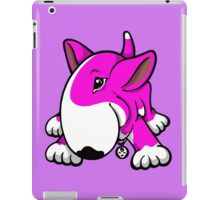 Let's Play English Bull Terrier Pink  iPad Case/Skin