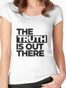 TRUTH. Women's Fitted Scoop T-Shirt