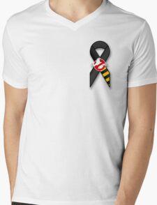 GB Tribute Ribbon Ver.2 (No Face) Mens V-Neck T-Shirt