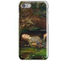 Ophelia - John Everett Millais - 1852 iPhone Case/Skin