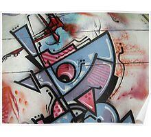 street art: bauhaus triptych 3 Poster
