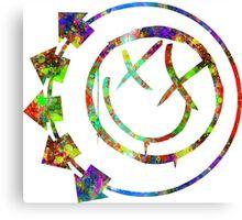 Blink Splatter Canvas Print