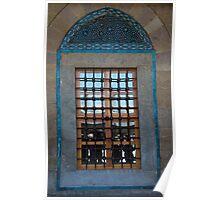 Ceramic Inlaid Window Poster