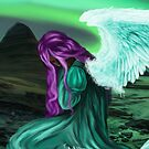 Angel in Frustration by TriciaDanby