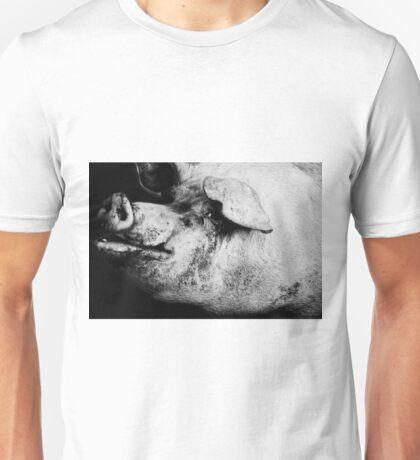 porker portrait Unisex T-Shirt