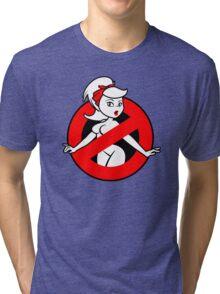 GB-Girl PinUp 2 (Red) Tri-blend T-Shirt