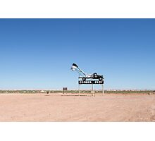 Welcome to Coober Pedy Photographic Print