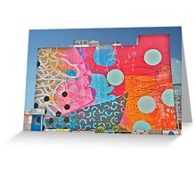 Funky Wall Greeting Card