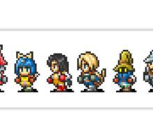 Final Fantasy IX (All sprites) Sticker