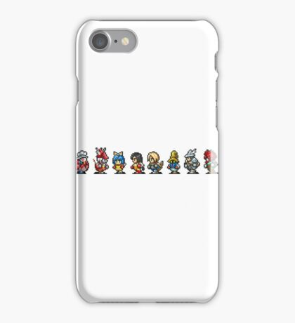Final Fantasy IX (All sprites) iPhone Case/Skin
