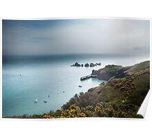 Sark Landscape - Visitors Harbour Poster