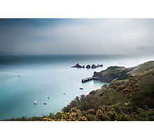 Sark Landscape - Visitors Harbour Photographic Print