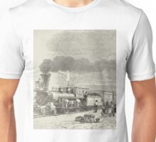 Union Pacific Railroad Station Unisex T-Shirt