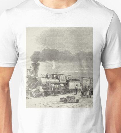 Union Pacific Railroad Station Unisex T-Shirt