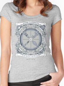 Arm Cannon Association Women's Fitted Scoop T-Shirt