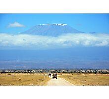 Mount Kilimanjaro Photographic Print