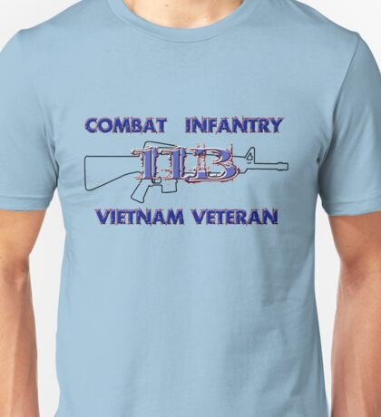 11Bravo - Combat Infantry - Vietnam Veteran Unisex T-Shirt