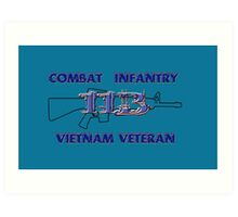 11Bravo - Combat Infantry - Vietnam Veteran Art Print