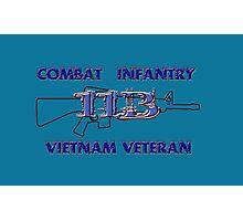 11Bravo - Combat Infantry - Vietnam Veteran Photographic Print
