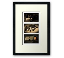 The accountant, cabinet maker and photographer Framed Print
