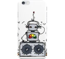dB the robot iPhone Case/Skin