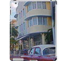 South Beach life iPad Case/Skin