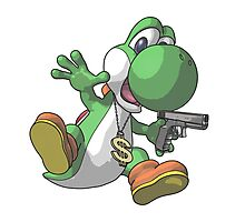 Gangster Yoshi Photographic Print