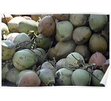 green coconut Poster
