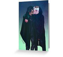 Dark Kiss Greeting Card