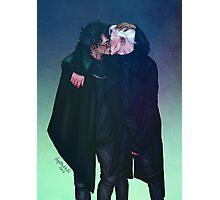 Dark Kiss Photographic Print