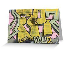 Newtown Graffiti #2 Greeting Card