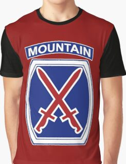 10th Mountain Division Graphic T-Shirt