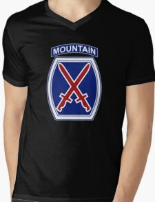 10th Mountain Division Mens V-Neck T-Shirt