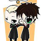 Draco & Harry by JotunRunt
