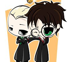 Draco & Harry by Kara Thattanaham
