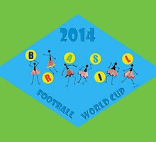 Football World Cup 2014- Brasil by Heaven7