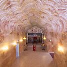 Serbian Underground Church by Linda Lees