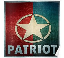 Logo - Patriot Star Poster