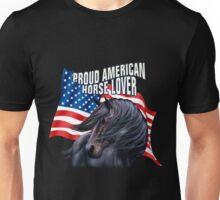 Proud American Horse Lover Unisex T-Shirt