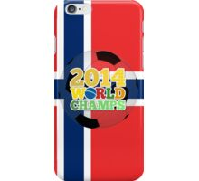 2014 World Champs Ball - Norway iPhone Case/Skin