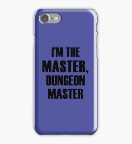 Dungeon Master iPhone Case/Skin