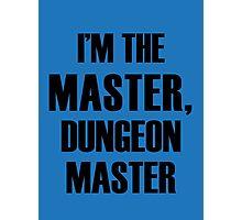 Dungeon Master Photographic Print