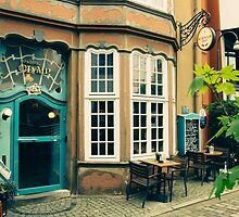 Bremen Schnoor Cafe by PatiDesigns