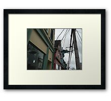Fish Street Framed Print