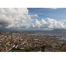 Spaccanapoli - the Historic Main Street That Divides the Center of Naples, Italy Photographic Print