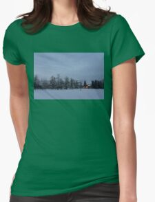 Christmas Morning  Womens Fitted T-Shirt